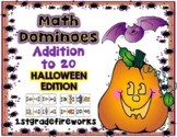 Spooktacular Addition MATH DOMINOES