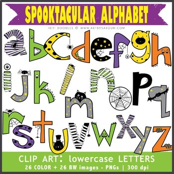 Spooktacular Alphabet Bundle