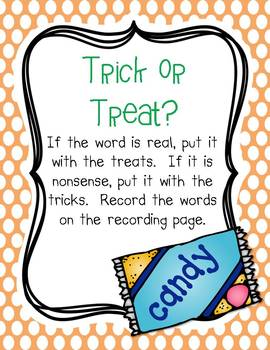 October Centers for First Grade