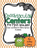 October Centers for First Grade | Halloween