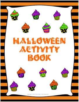 Spooktacular Halloween Activity Booklet
