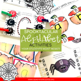 Spooktacular Halloween Alphabet Formation Activities Bundle