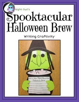 Halloween Writing Craftivity - Spooktacular Brew