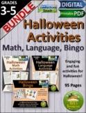 Halloween Math Language Bingo Activities