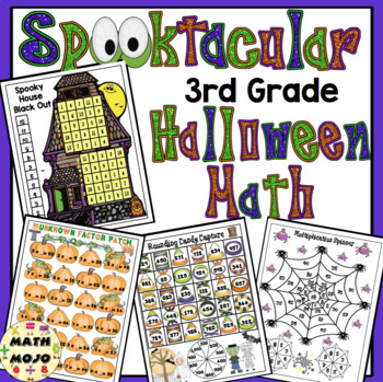 Halloween Math - 3rd Grade Activities