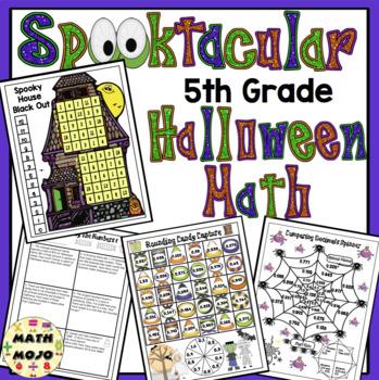 Halloween Math - 5th Grade Activities