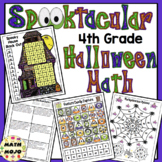 4th Grade Halloween Math Activities - 4th Grade Math Games and Centers