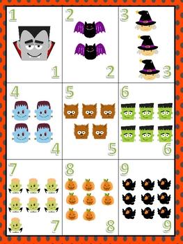 Spooktacular Halloween Math Centers