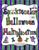 Spooktacular Halloween Multiplication