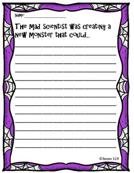 Spooktacular Halloween Writing Prompts