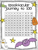 Spooktacular Journey to 100 - A Halloween Place Value Game