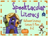 Spooktacular Literacy: Fun with Halloween/Fall Centers