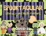 Spooktacular! Literacy and Math Centers