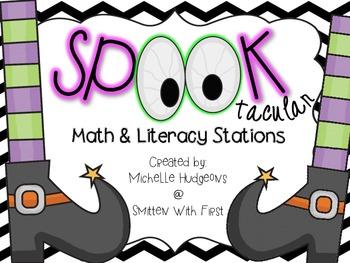 Spooktacular Math & Literacy Centers {4 Literacy & 6 Math}
