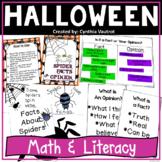 #FallForDollarDeals Halloween Math and Literacy Centers