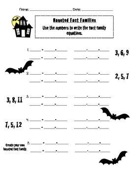 Spooktacular Math Practice