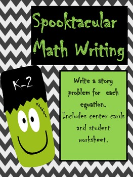 Spooktacular Math Writing K-2
