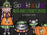 Spooktacular Math and Literacy Centers