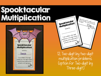 Spooktacular Multiplication Craftivity