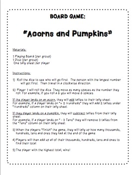 Spooktacular Place Value Activities