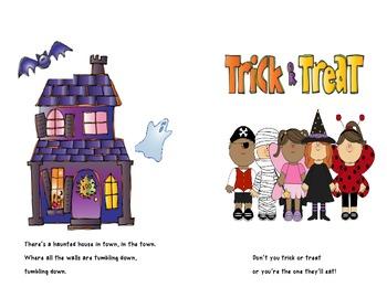 Halloween Book Craft Common Core Aligned