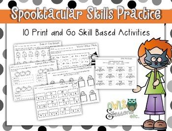 Spooktacular Skills Review