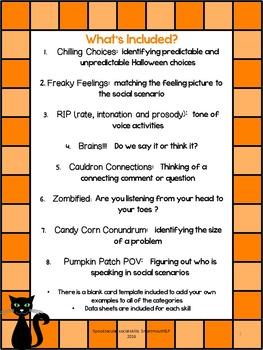 Social Skills: Halloween