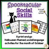 Halloween Social Emotional Activities