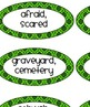 Spooktacular Synonym Antonym Activity