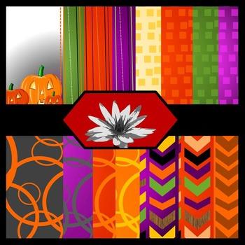 Spooktastic {Digital Paper Background Set}
