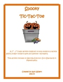 Spooky Addition Tic-Tac-Toe