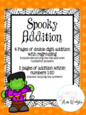 Spooky Addition with Regrouping