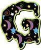 Spooky Alphabet Digital Clip Art  – Uppercase Letters/Numbers— 300 DPI Printable