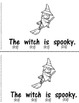 Spooky!  An Early Emergent Reader PLUS Word and Picture Ca