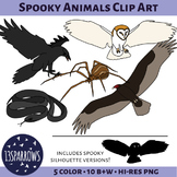 Spooky Animals Clip Art