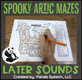 Spooky Articulation Mazes: A Speech Therapy Activity