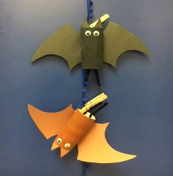 Spooky Bat Craft