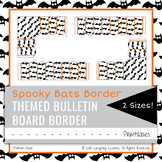 Spooky Bats Halloween Border Decor Bulletin Board Decoration