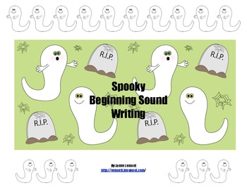 Spooky Beginning Sound Writing