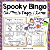 halloween bingo and sorting activity