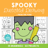 Halloween Spooky Directed Drawing