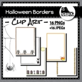 Spooky Borders - 16 Halloween Borders for decorations