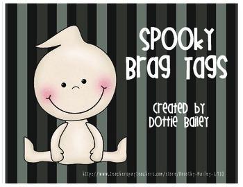 Spooky Brag Tags