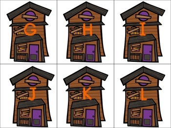 Spooky Centers: A Halloween Literacy Product