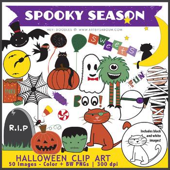 Spooky Clip Art