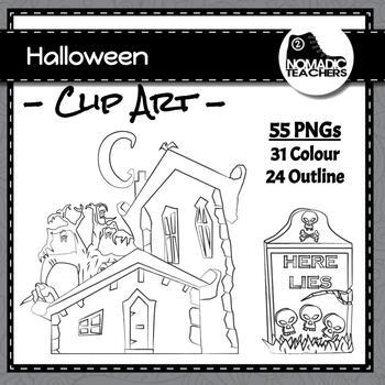 Spooky Clip Art - 32 Clip art perfect for Halloween