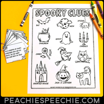 Spooky Clues: Halloween Inferencing