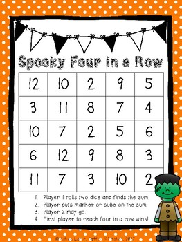 Spooky Connect Four