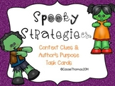 Spooky {Context Clues and Author's Purpose}