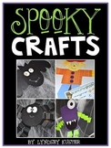 Spooky Crafts and Writing Activities {Bat, Spider, Monster, and Scarecrow}